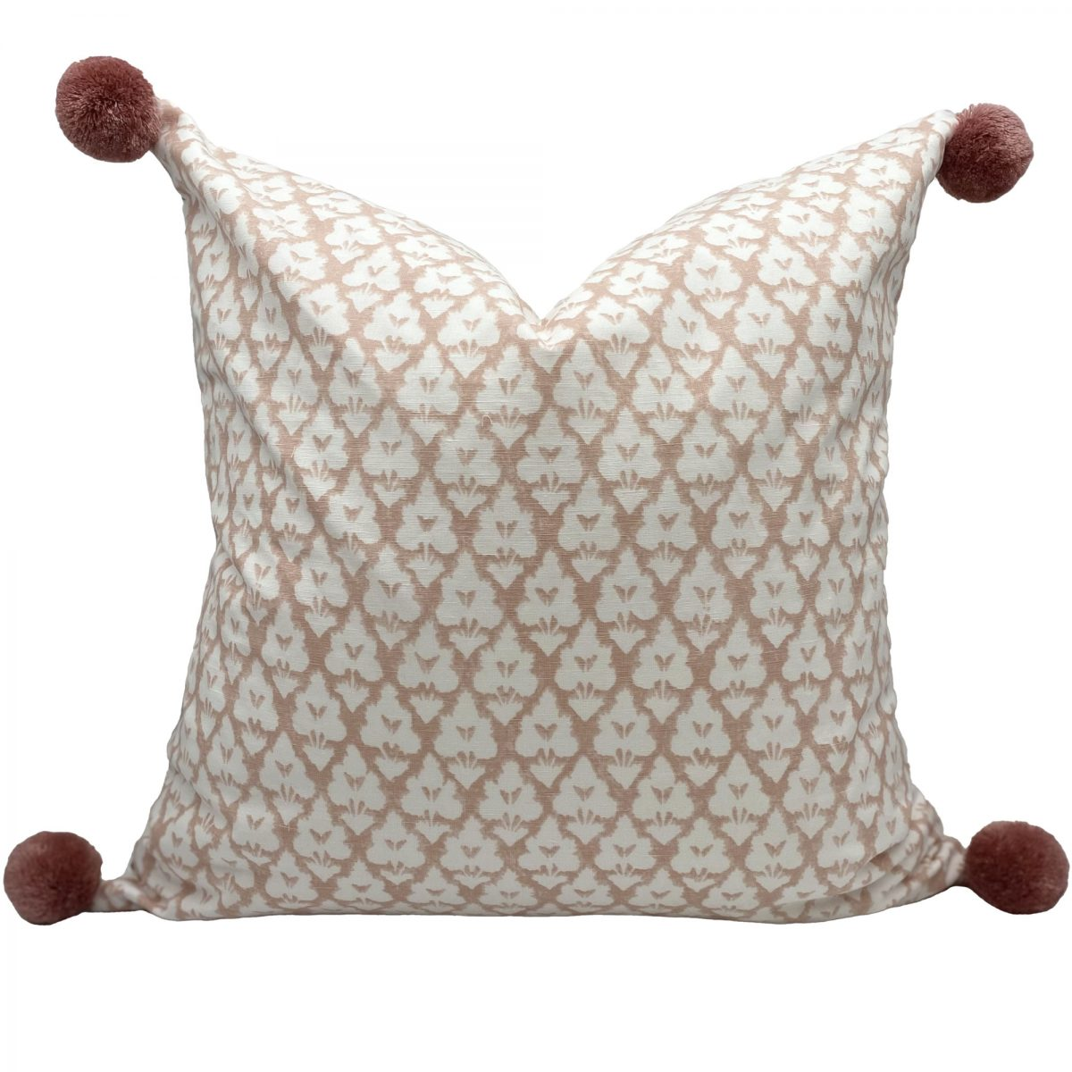 thibaut pink pillow cover