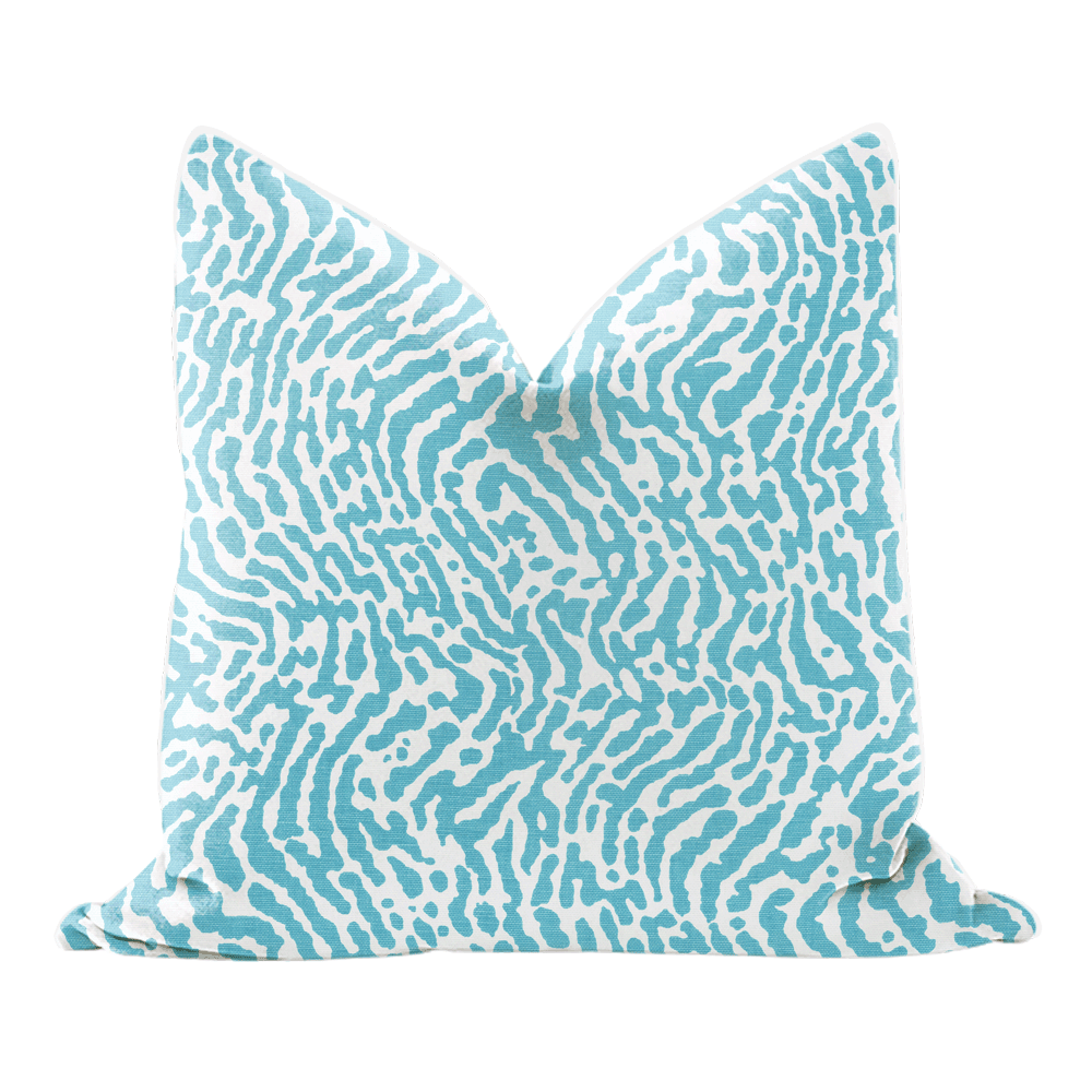 Turquoise Pillow cover